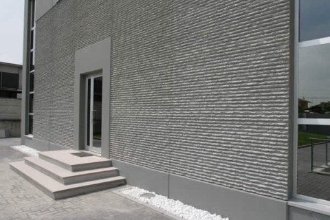 Design and realize textured fair-faced concrete