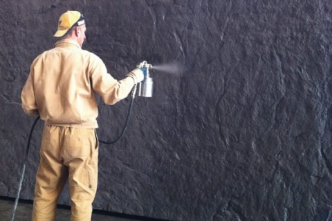 Concrete surface protection