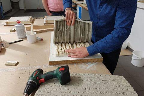 Costruire uno stampo elastico