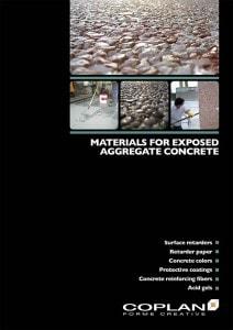 Copertina Exposed aggregate concrete