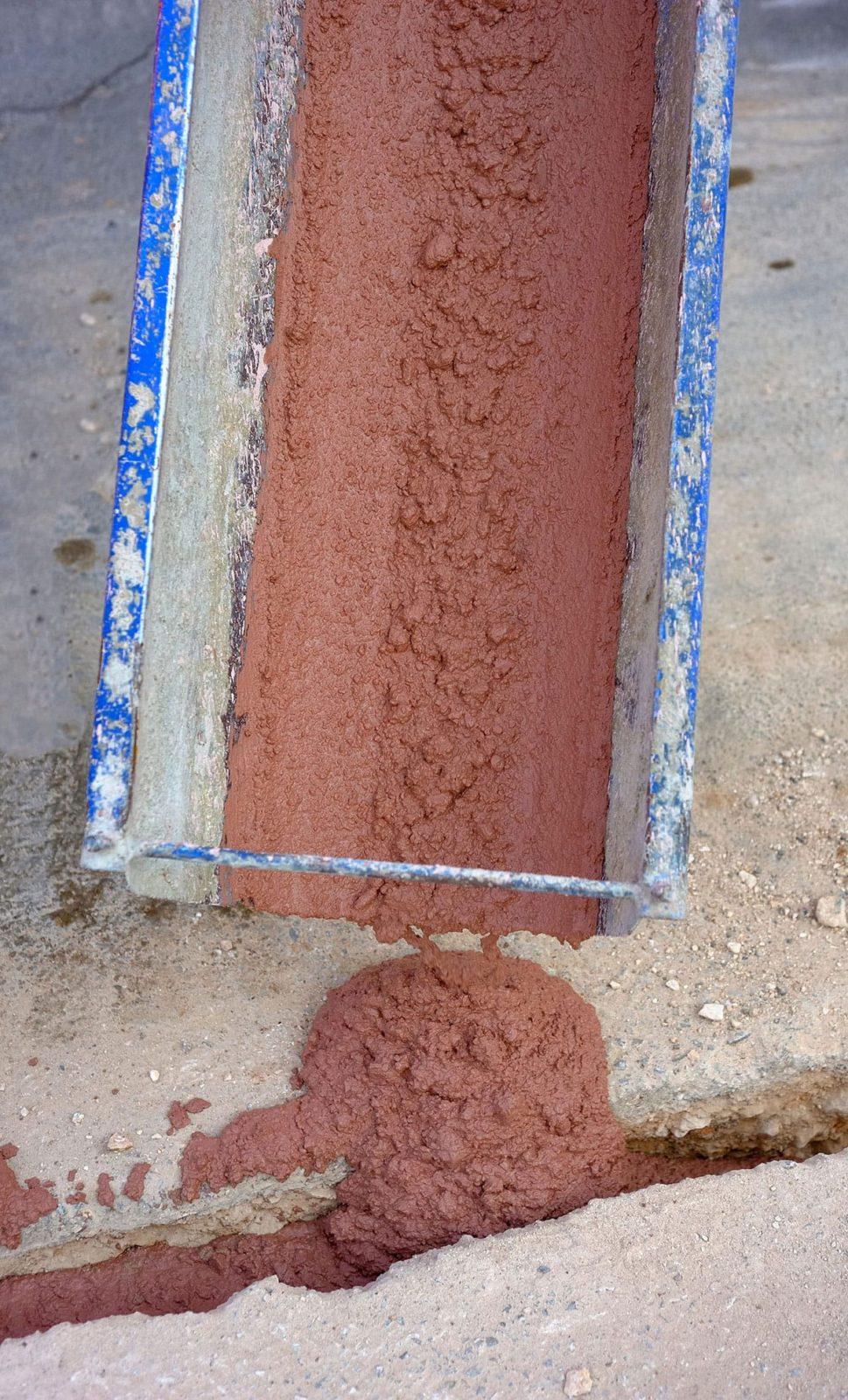Rosso per minitrincea fibra ottica